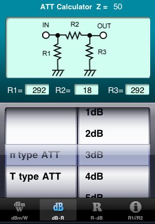 dB -> R