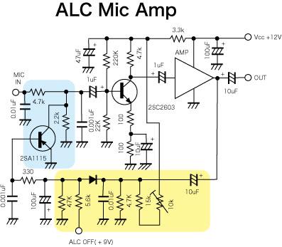 ALC MIC AMP
